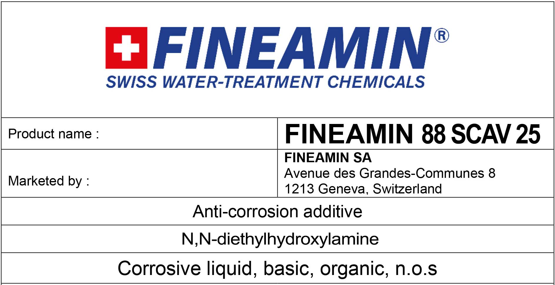 fineamin-88-scav-25-hydrazine-replacement