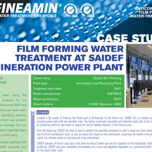 Polyamines boiler case study