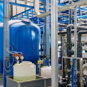 Water treatment polyamines technology