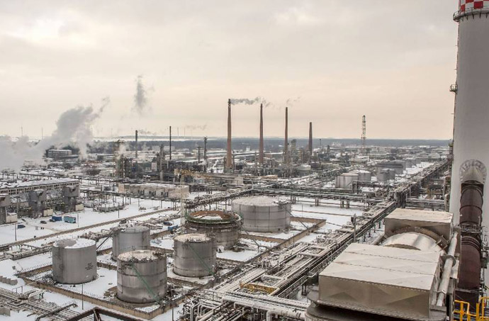 refinery industrial water treatment